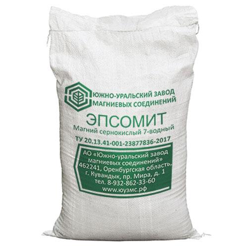 """Magnesium sulfate (magnesium sulfate 7-water), """"SUFMC"""", 25 kg"""